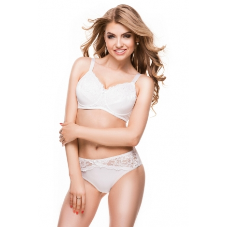 Benefit Basic White bra for women after mastectomy